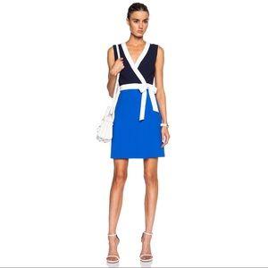DIANE VON FURSTENBERG | Gracie Color Block Dress